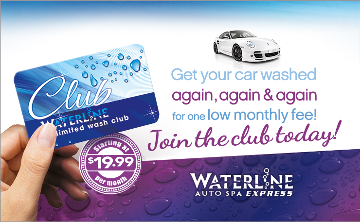 Waterline Unlimited Wash Club