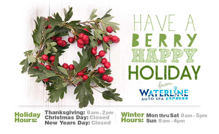 Waterline Holiday Hours